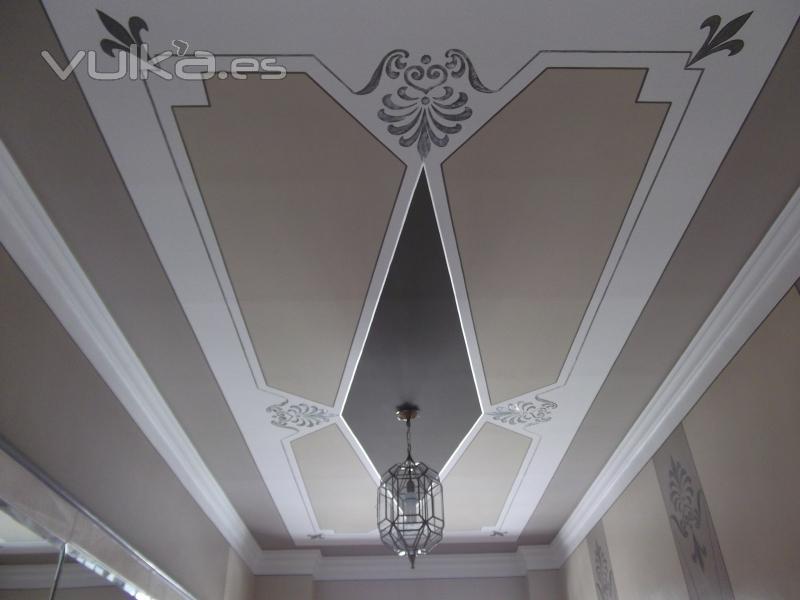 Foto decoradores pintores huertas miles de techos pintados maneras y formas - Pintores y decoradores ...