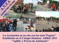 Exhibicion Colegio Dumboa (Irun) 2011 - Noble y Fiel Amigo /  ANFA con los mas  Peques.