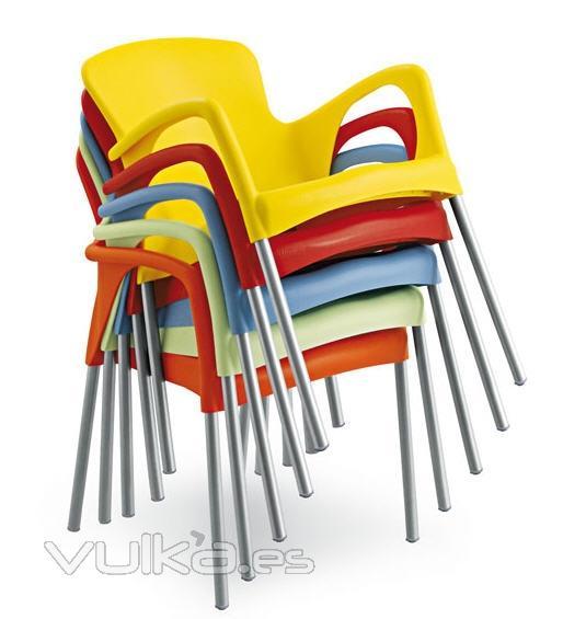 Muebledeco for Sillas para terrazas baratas