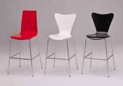 Taburetes de madera lacada - varios colores - sillas a juego