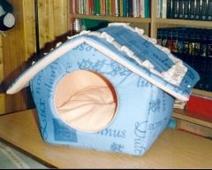 Modelo casita con tejado desmontable