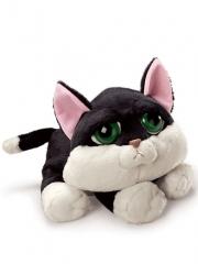 Peluches gatos de calidad. peluche gato ojos grandes blanco y negro mediano oasisdecor.com