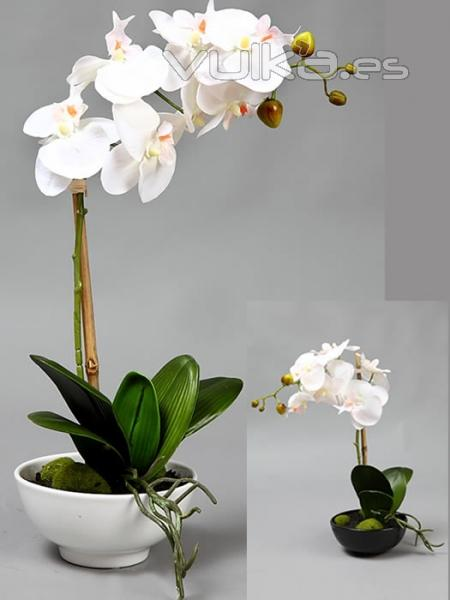 Foto centros florales artificiales orquidea butterfly for Orquideas artificiales