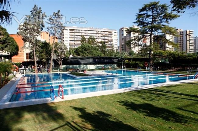 Foto piscinas para clubs y asociaciones for Construccion piscinas valencia