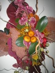 Decoracion Floristeria Allium con Flores para Centro de Mesa