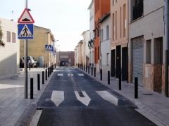 Urbanizaci�n y mejora del casco entiguo de Fornells de la Selva (Girona)