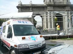 Servicio urgente de ambulancias en madrid capital. ambulancias san jose