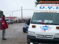 Ambulancias en carrera de motos. servicio a domicilio para empresas y particulares