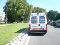 Ambulancia san jose asistencia medica sanitaria a enfermo, paciente, accidentado