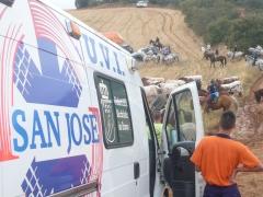 Ambulancia san jose asistencia sanitaria a eventos taurinos: corrida en el campo