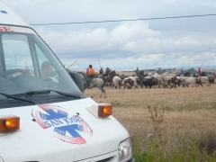 Ambulancia san jose toros: asistencia sanitaria, uvi movil, quirofano movil encierros, toros