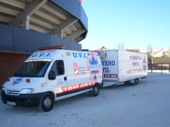 Toros, servicio de ambulancia, uvi movil, desplazamiento, recogida y traslado de paciente, enfermo