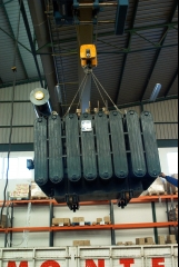 Transformador de 2.500 kva.