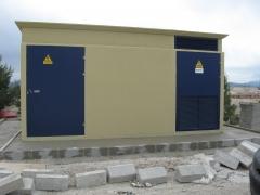 Edificio pref. de hormigon compacto ehc 24 kv.