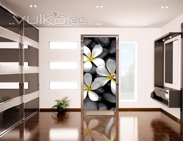 Papel pintado - Papel pintado para puertas ...