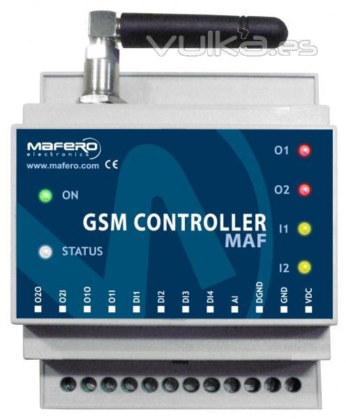GSM MODULE: Controlador con teléfono móvil (domótica simple para su hogar y negocio)