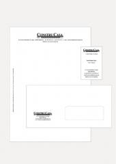 Aplicación a papelería corporativa y administrativa