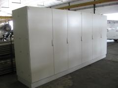 Cuadro electrico. armario eléctrico acabado.