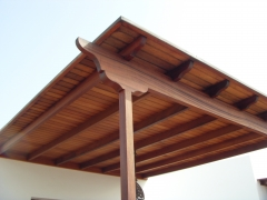 Pergola de sapelly