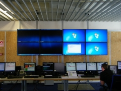 Video wall en Sala de Control - INSA