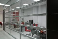 Mampara apaisada doble vidrio
