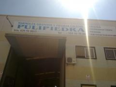 Lugar de elavoracion de encimeras empresa pulipiedra sl