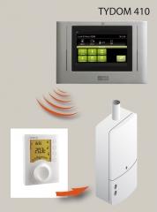 Panel de control digital tydom 410+ control calefación de delta dore