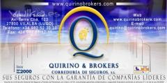 STS gestiona todos sus seguros con la compañía lider del sector QUIRINO & BROKER`S