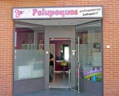 Entrada a Pelupeques peluquer�a infantil (zona peatonal - Torrej�n de Ardoz - Madrid)