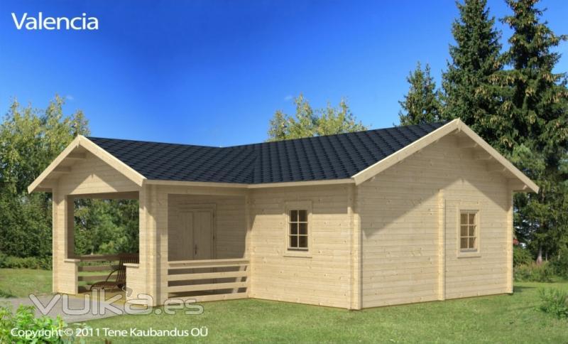 Foto casa de madera valencia - Casas de madera valencia ...