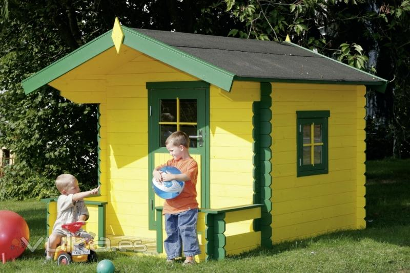 Casetas de jardin grupotene for Casita infantil jardin