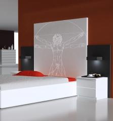 Colecci�n manhattan dormitorio hobre de vitruvio de davinci el modelo que ud quiera se puede grabar