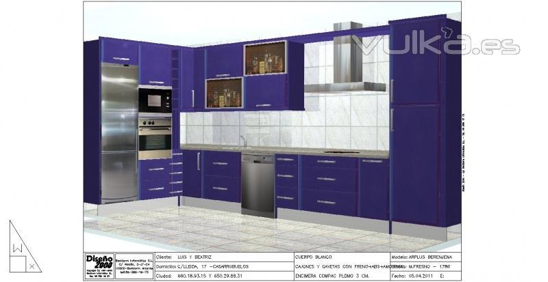Foto cocinas de dise o for Diseno cocinas 3d gratis espanol