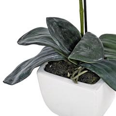 Planta artificial flores orquidea lavanda en lallimona.com (detalle 2)