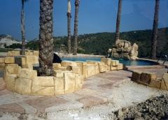 Tematizaci�n para jardines y piscina