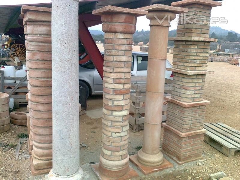 Terra cuita pi ol pallar s s l for Arcos de ladrillo rustico