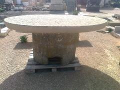 Mesa de piedra