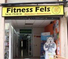 Fachada principal de fitnessfels tu tienda online y venta al p�blico en diet�tica -castelldefels bcn
