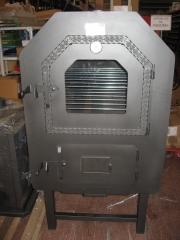 Vista completa del horno de le�a mahessa.