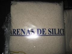 Sacos de arena de silice para las depuradoras de las piscinas.
