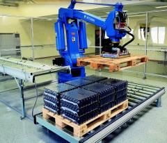 Paletizacion robotizada