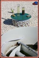 Depuradora de aguas residules. estaci�n biol�gica at8.