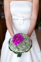 Ramo de novia mayula flores  fotograf�a de pablo sebastian