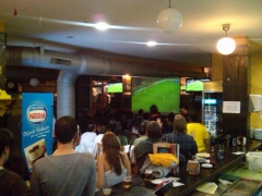 Partido bar�a madrid