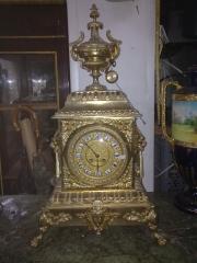 Reloj de bronce maquinaria paris