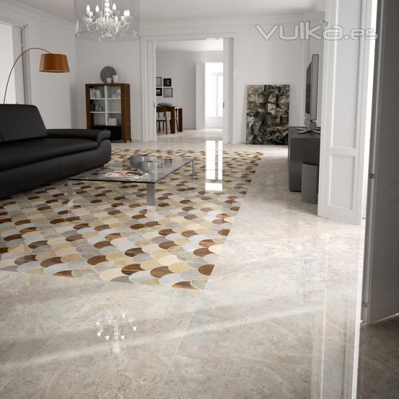 Baldosas Baño Saloni:Serie Titán, imitación de mármol, suelos de salón, pavimento de