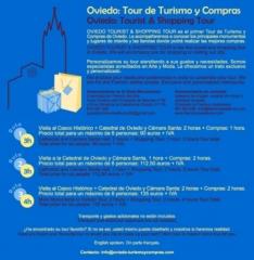 Oviedo tourist & shopping tour. oviedo tour de turismo y compras
