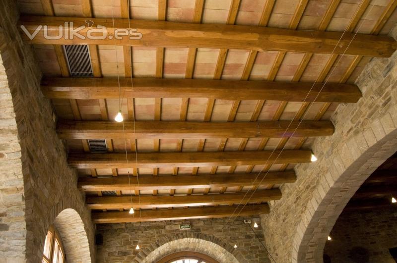 Foto baldosa manual flameada para techo r stico - Techos rusticos ...