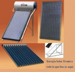 Energia Solar Termica de Férroli. Todo lo que buscas