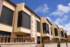 Edificación con 6 viviendas adosadas para promociones hijos de aleman s.l., en san miguel de abona